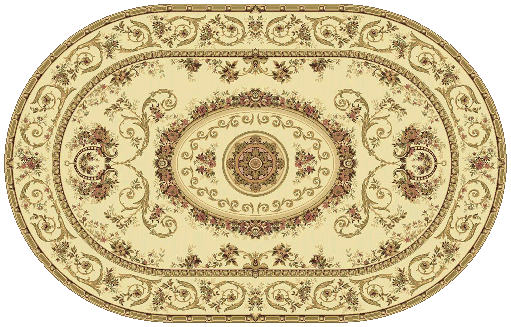 c4966-284_Venet_1567_European_kover_carpet_oval
